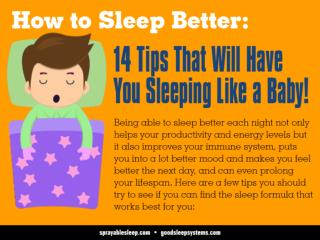 How to Sleep Better: 14 Tips That Will Have You Sleeping Lik