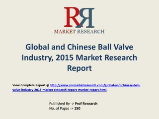 Ball Valve  Market  Global & Chinese (Value, Cost or Profit)