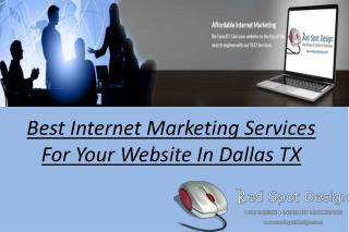 Best Internet Marketing Services For Your Website