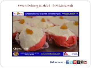 Sweets Delivery in Malad - MM Mithaiwala