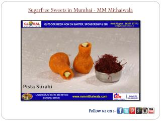 Sugarfree Sweets in Mumbai - MM Mithaiwala