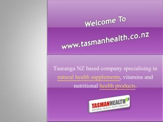 Buy Herbal Medicine -TasmanHealth.co.nz