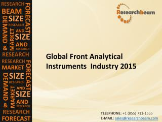 Global Front Analytical Instruments Industry 2015