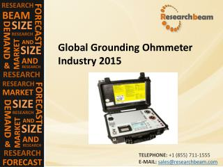 Global Grounding Ohmmeter Industry 2015
