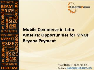 Mobile Commerce in Latin America