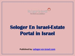 Seloger En Israel-Estate Portal in Israel