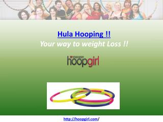 Hula Hooping weight loss