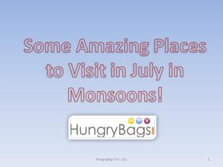 HungryBags- Monsoon Places to Visit in India