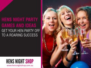 Hen's Night Party Supplies-Add a Unique Touch to Your Event!