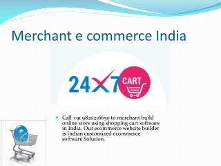 Internet ecommerce India