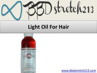 Light Oil for Hair