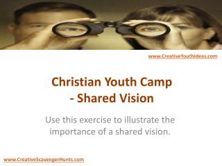 Christian Youth Camp - Shared Vision