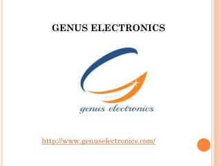 Genus Electronics – A Electronics Company in noida