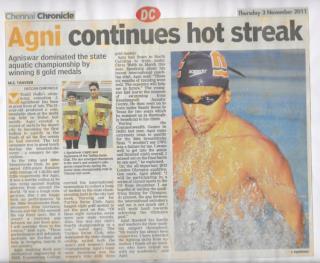 Agnishwar Jayaprakash Continues Hot Streak - DC NOV'11