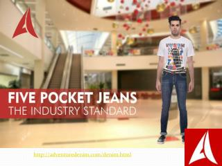 Designer Denim Jeans for Men in India