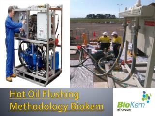 Hot Oil Flushing Methodology Biokem