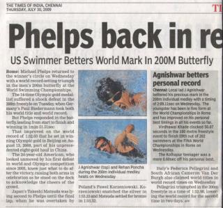 Agnishwar Jayaprakash - Phelps is Back