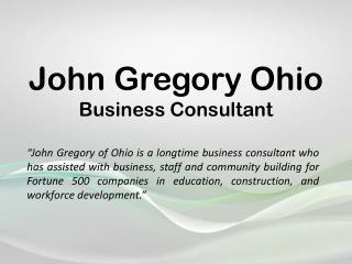 John Gregory Ohio