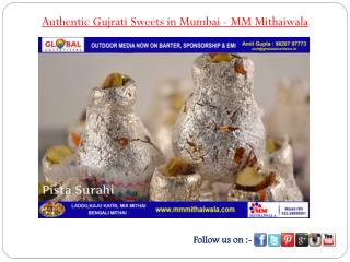 Authentic Gujrati Sweets in Mumbai - MM Mithaiwala