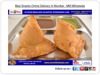 Best Snacks Online Delivery in Mumbai - MM Mithaiwala