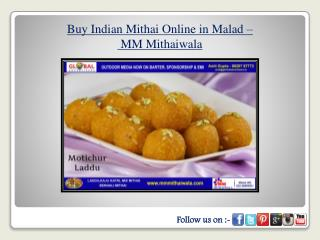 Buy Indian Mithai Online in Malad - MM Mthaiwala