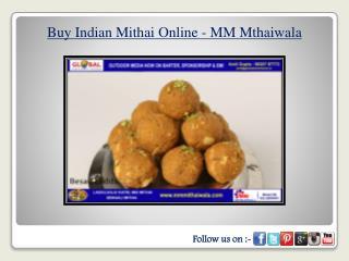 Buy Indian Mithai Online - MM Mthaiwala