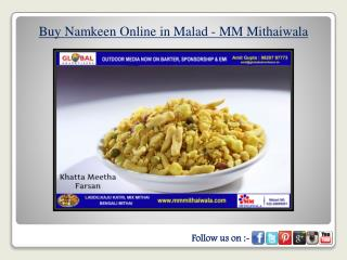 Buy Namkeen Online in Malad - MM Mithaiwala