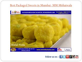 Best Packaged Sweets in Mumbai- MM Mithaiwala