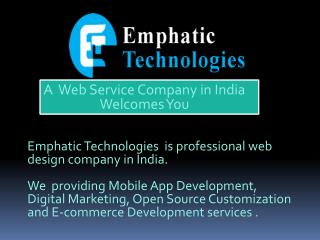 Emphatic Technologies PPT