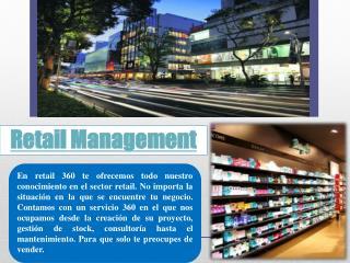 consultoria retail