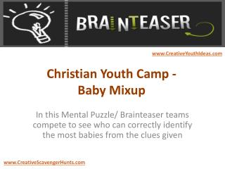 Christian Youth Camp - Baby Mixup