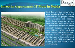 IT Plots in Noida