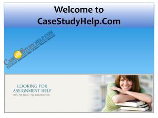 Online Assignment Help Provider Australia | Casestudyhelp