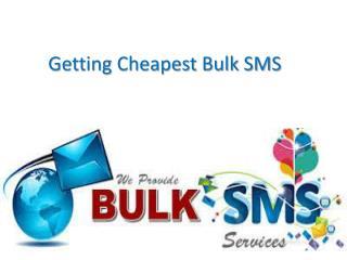 Getting Cheapest Bulk SMS