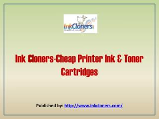 Cheap Printer Ink & Toner Cartridges