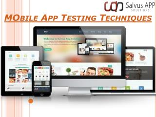 App Testing Company Provide Error Free Application