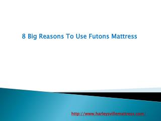 8 Big Reasons To Use Futons Mattress