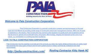Commercial Roofing Contractor Kitty Hawk, Southern shores, K