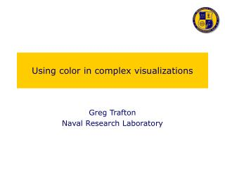 Using color in complex visualizations