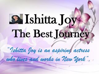 Ishitta Joy