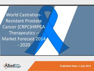 Castration-Resistant Prostate Cancer Therapeutics Market