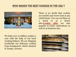 Who makes the best cookies in the USA?