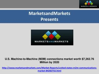 U.S. Machine-to-Machine (M2M) Communications Market