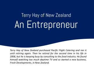 Terry Hay New Zealand