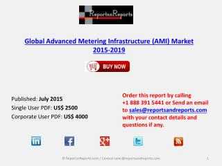 Advanced Metering Infrastructure Market 2019