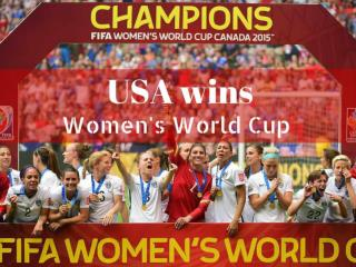 USA wins Women's World Cup