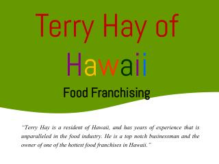 Terry Hay Hawaii