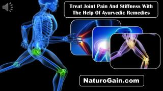 Treat Joint Pain And Stiffness With The Help Of Ayurvedic Re