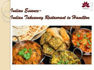 Indian Essence - Best Indian Restaurantr in Hamilton