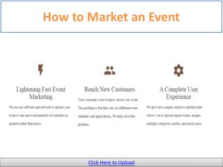Free Event Promotion Companies